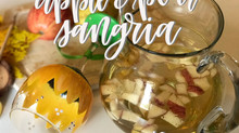 Apple & Pear Sangria Recipe in Sunflower Glass