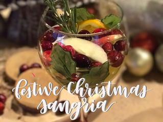 Festive Christmas Sangria