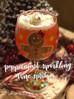 Peppermint Sparkling Wine Spritzer