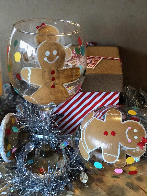 gingerbread glass
