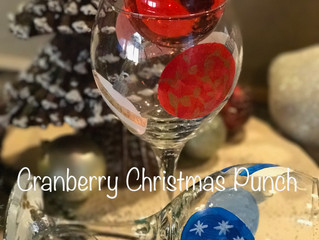 Cranberry Christmas Punch - Served in an Ornament!!