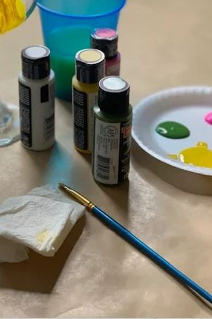 Individual Glass Painting Party Supply Kit - no glass
