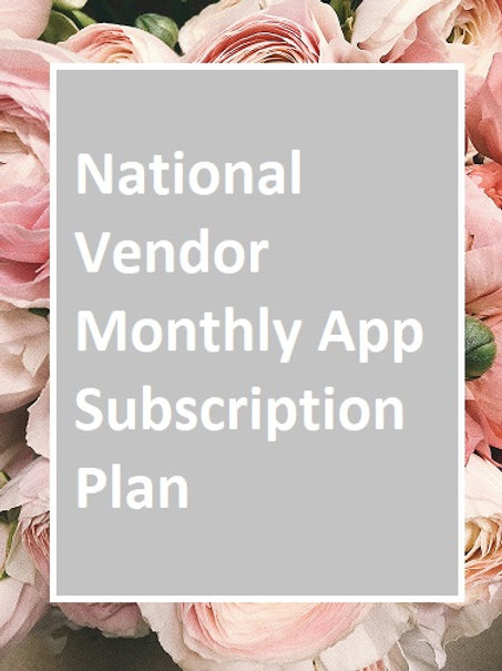National Monthly App Subscription Plan