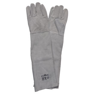 Chrome Leather Shoulder Double Palm Gloves