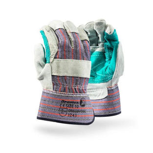 Superior Candy Striped Gloves
