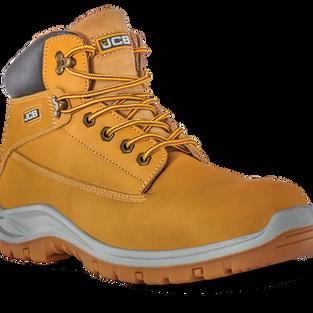 JCB Holton Honey Nubuck Safety Boot