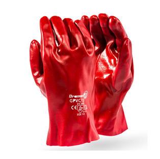 PVC Open Cuff 27cm Gloves