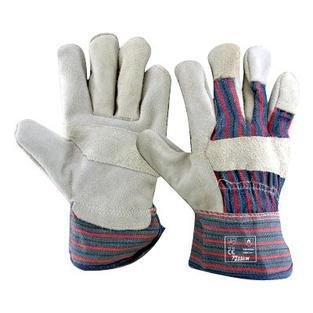 Chrome Candy Stripe Gloves