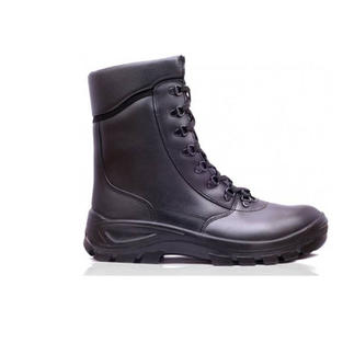 Combat Leather Lace Up Boots