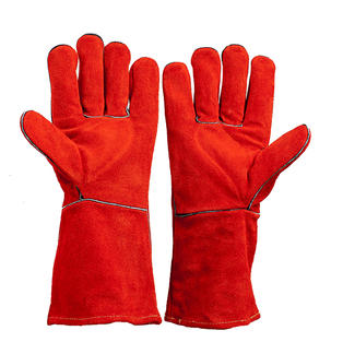 Red Heat Gloves Elbow Length