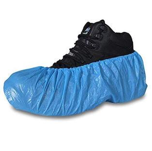 Blue Shoe Covers