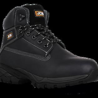 JCB Holton Black Work Boots