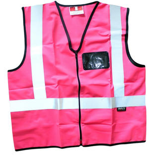 Reflective Pink Vest