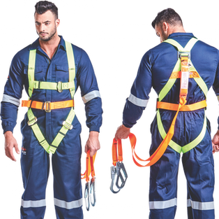 Double Lanyard Shock Absorber Harness