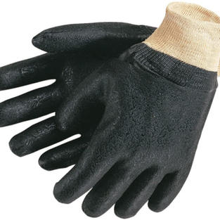 PVC Double Dipped Rough Gloves