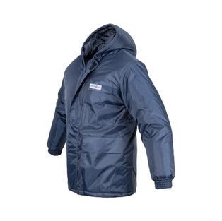 Navy Freezer Jacker with Detachable Hood