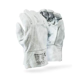 Chrome Wrist Double Palm Gloves