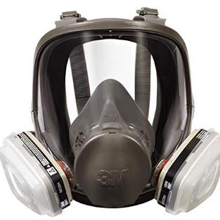 Full Mask Reusable Double Respirator