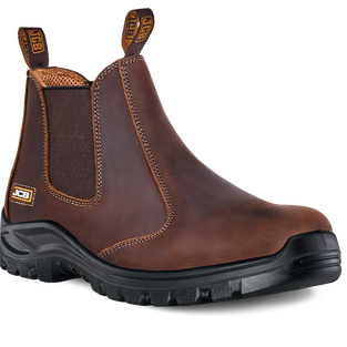 JCB Chelsea Brown Safety Boot