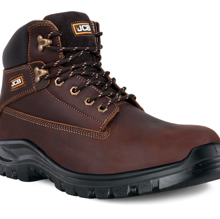 JCB Holton Brown Safety Boot