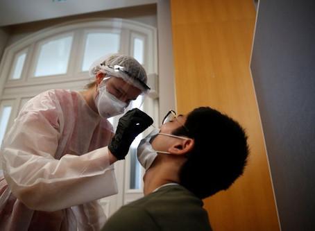 Coronavirus: Plus de 8.500 nouveaux cas et 5.000 patients hospitalisés en France