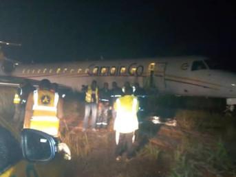Un avion de Camair Co fait une sortie de piste à l'aéroport de Nsimalen