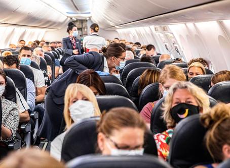 CORONAVIRUS : En avion, le risque de transmission du coronavirus est faible