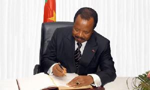 DERNIERE MINUTE: voici le nouveau gouvernement Biya en projet à Mvomeka'a