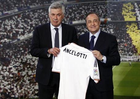 FOOTBALL - REAL MADRID : CARLO ANCELOTTI SUCCÈDE À ZINÉDINE ZIDANE AU POSTE D'ENTRAÎNEUR