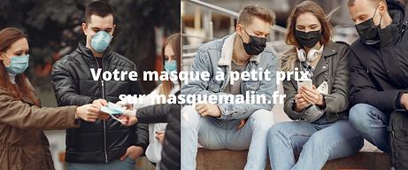 Votre masque à petit prix sur masquemali