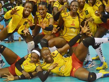 CAN Dames de volleyball : Les Lionnes du Cameroun remportent leur 3eme Trophée d'affilée