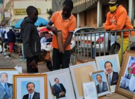 Cameroun : les portraits de Paul Biya ne s'achètent plus
