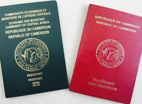 Le Cameroun augmente le coût du timbre du passeport de 75 000 à 110 000 FCFA