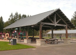 sports area picnic shelter
