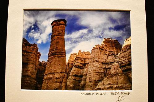 Abiquiu Pillar 8x10 Matted Print