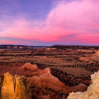 Chimney Rock Sunrise