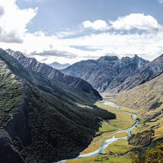 Cascade Saddle View