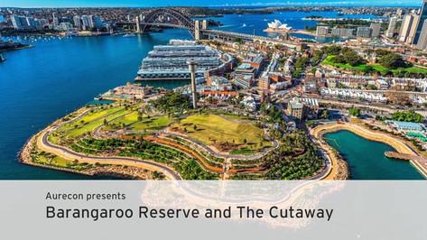Aurecon presents Barangaroo Reserve and The Cutaway