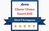 Avvo 2015 Client's Choice.png