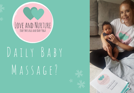 How to include massage when you're baby busy?