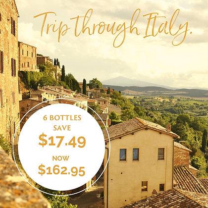 Trip Through Italy