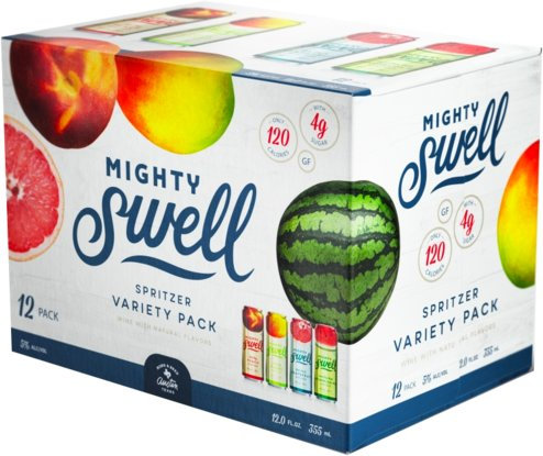 Mighty Swell Variety 12 pack 355ml Cans