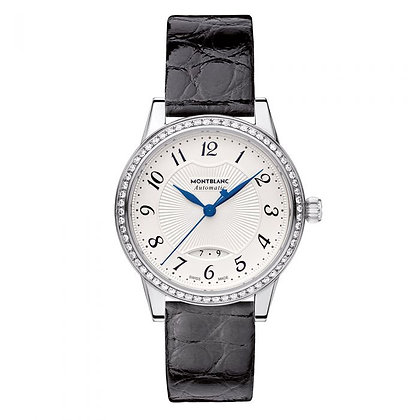 Montblanc Watches Boheme Date Automatic Ss Silvery-Wht Dial W/ Dia