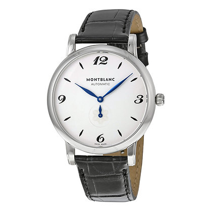 Montblanc Watches Dc19 Star Classique Automatic Ss Silvery-Wht Dial Blk Alllig