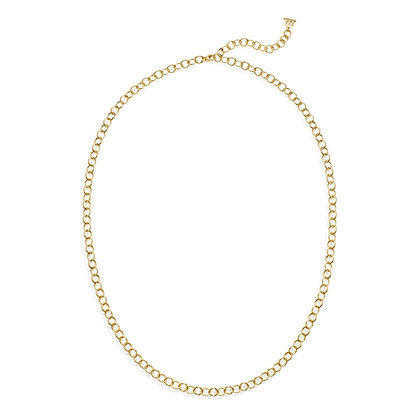 """18K OVAL LINK CHAIN- 32"""""""
