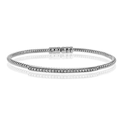 SIMONG 18Kwg Bangle 0.20 - 0.25D