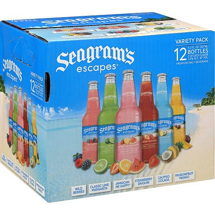 Seagrams Variety 12 pack 330ml Bottles