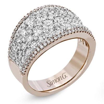 SIMONG 18K Wg & Rg Ring 2.01Ctw Wht Dia 0.23Ctw Pink Dia