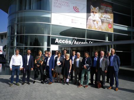 Voyage d'étude organisé par Business France et Silver Valley à Barcelone