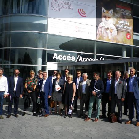 Viaje de estudios organizado por Business France y Silver Valley en Barcelona
